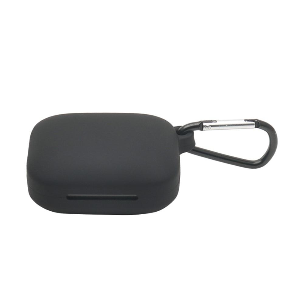 Silikonskal med karbinhake OnePlus Buds Pro svart