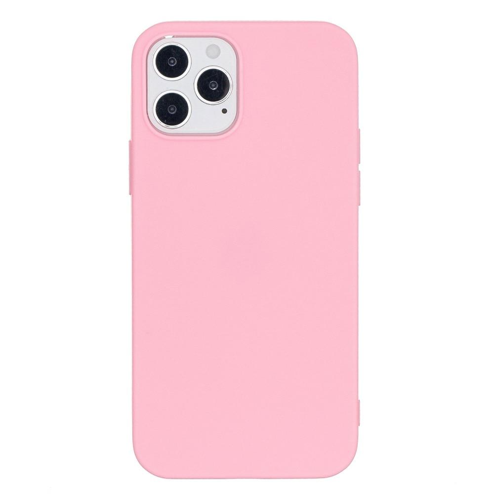 TPU Skal iPhone 12/12 Pro rosa