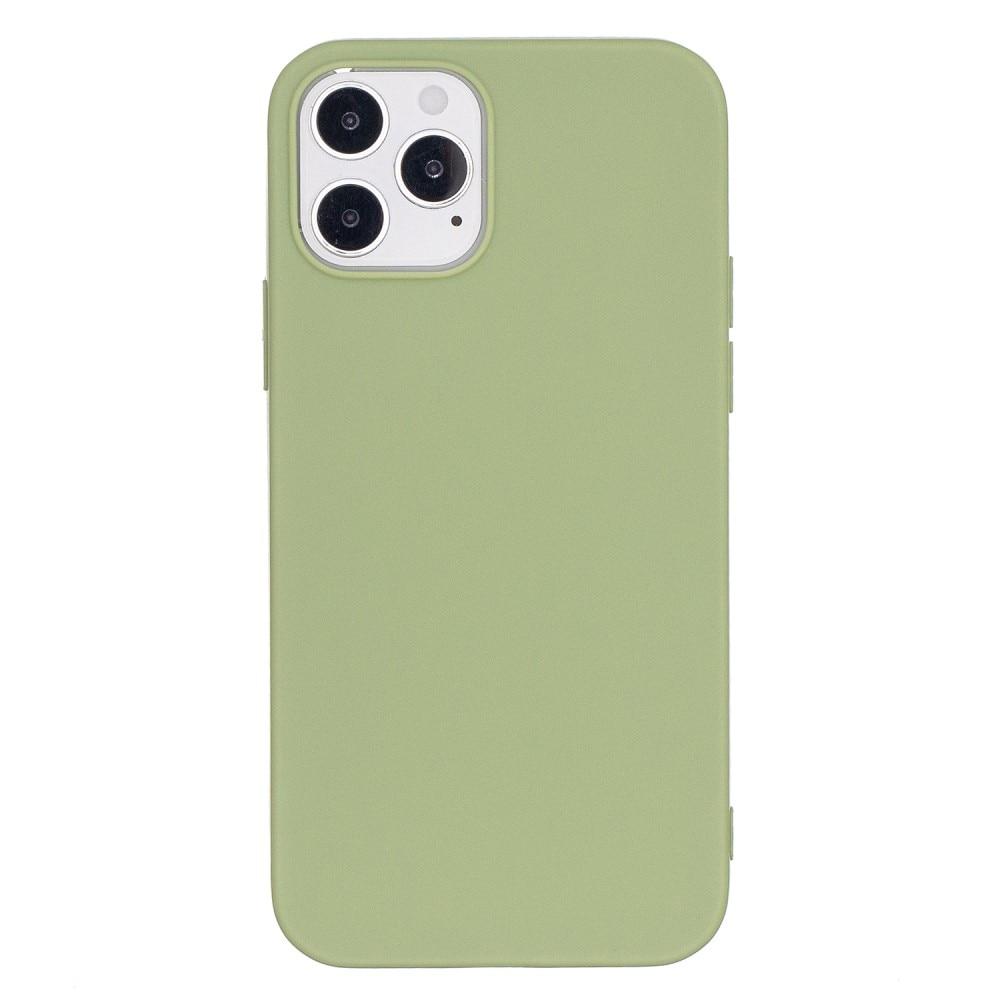 TPU Skal iPhone 12/12 Pro grön
