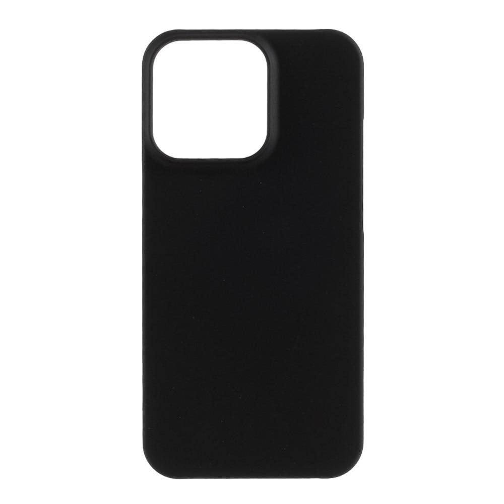 Hårdskal Gummerat iPhone 13 svart