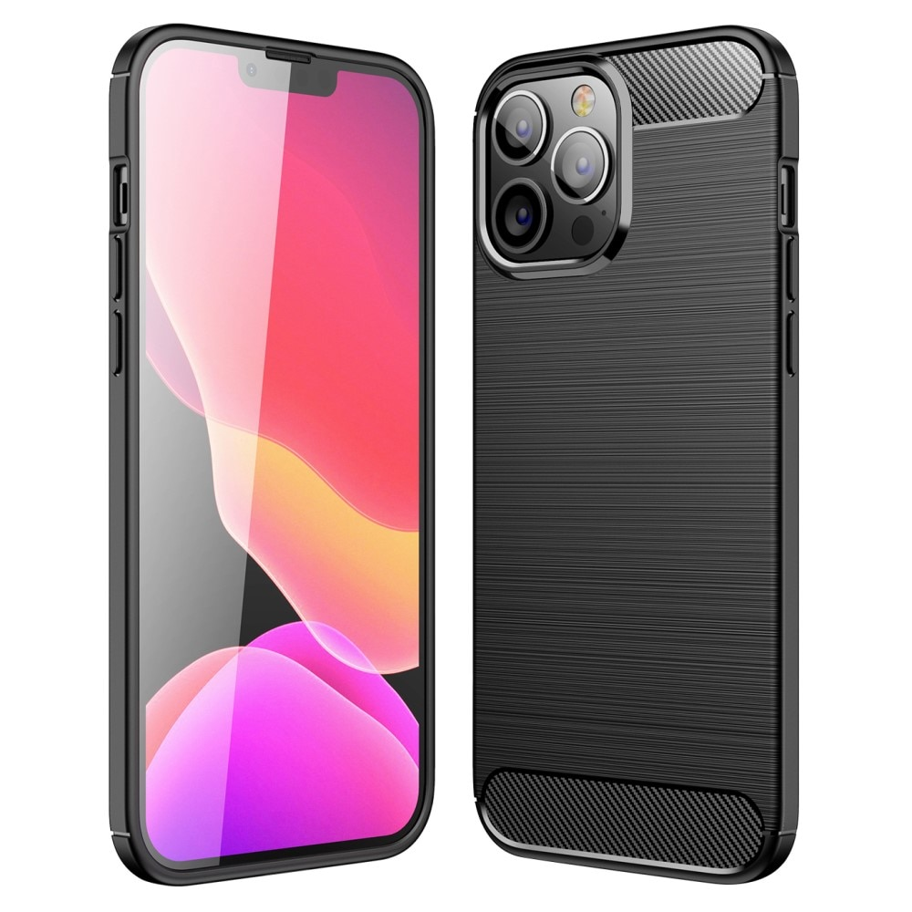 Brushed TPU Case iPhone 13 Pro Max Black
