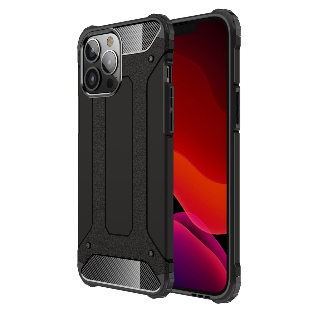 Hybridskal Tough iPhone 13 Pro Max svart