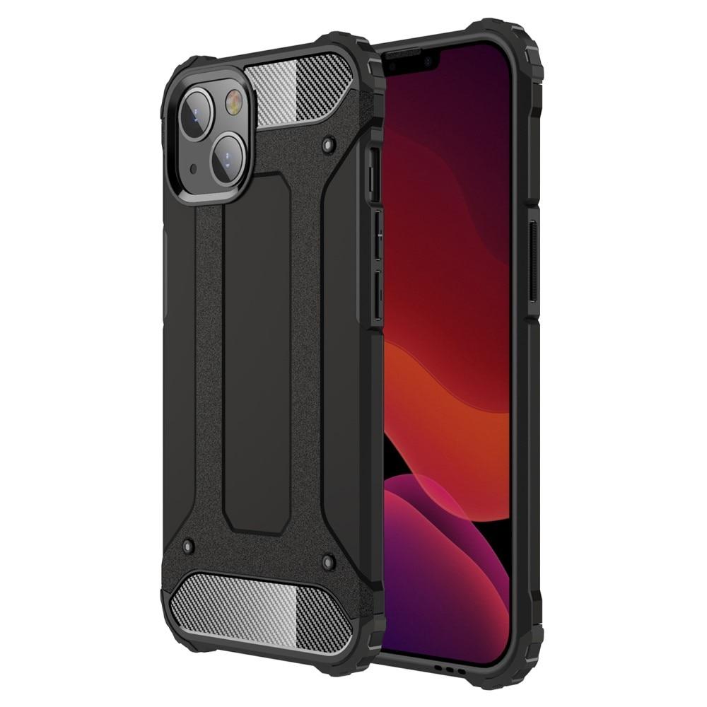 Hybridskal Tough iPhone 13 svart
