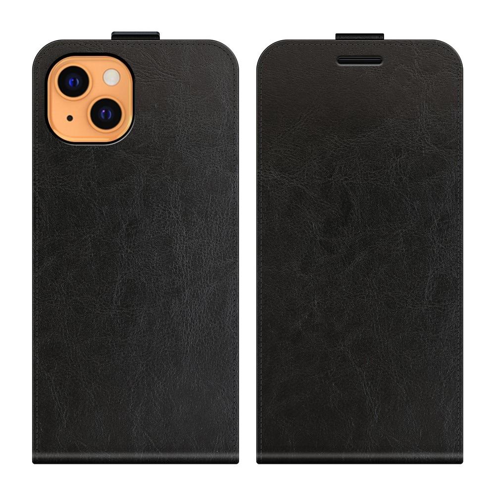 Flipfodral iPhone 13 svart