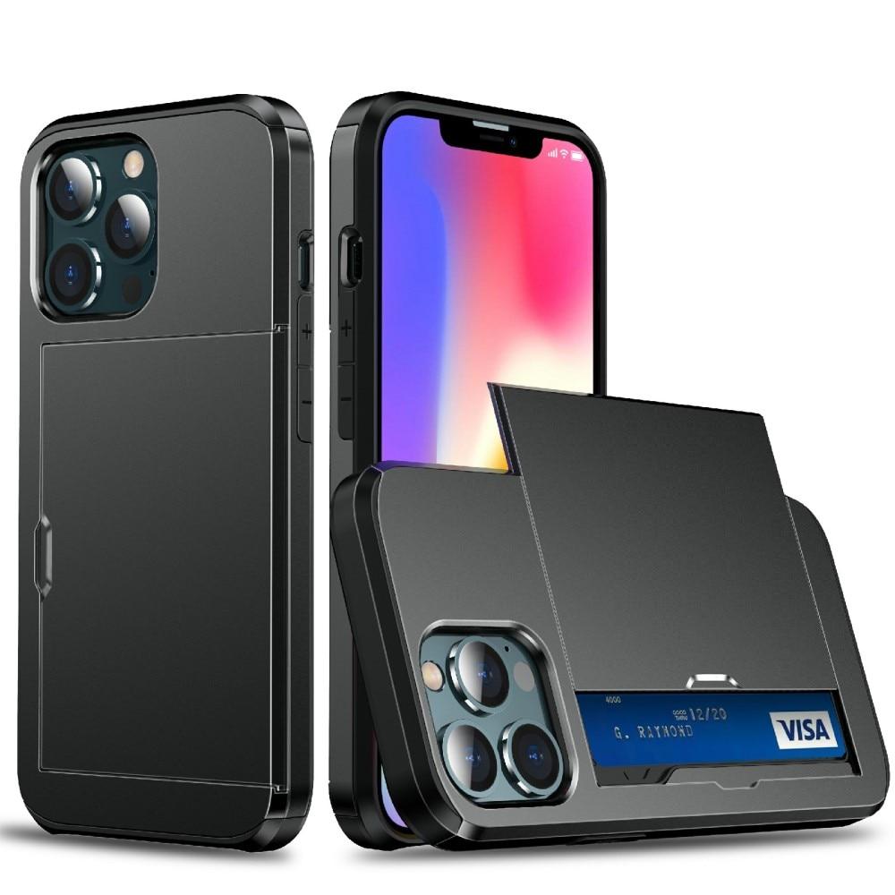 Skal Kortfack iPhone 13 Mini svart