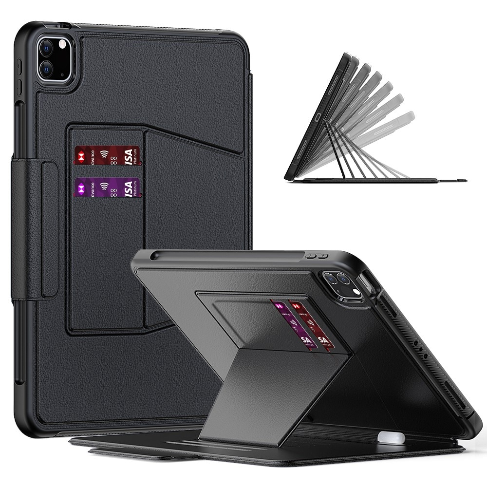 Fodral kortfack Apple iPad iPad Pro 11 2018/2020/2021 svart