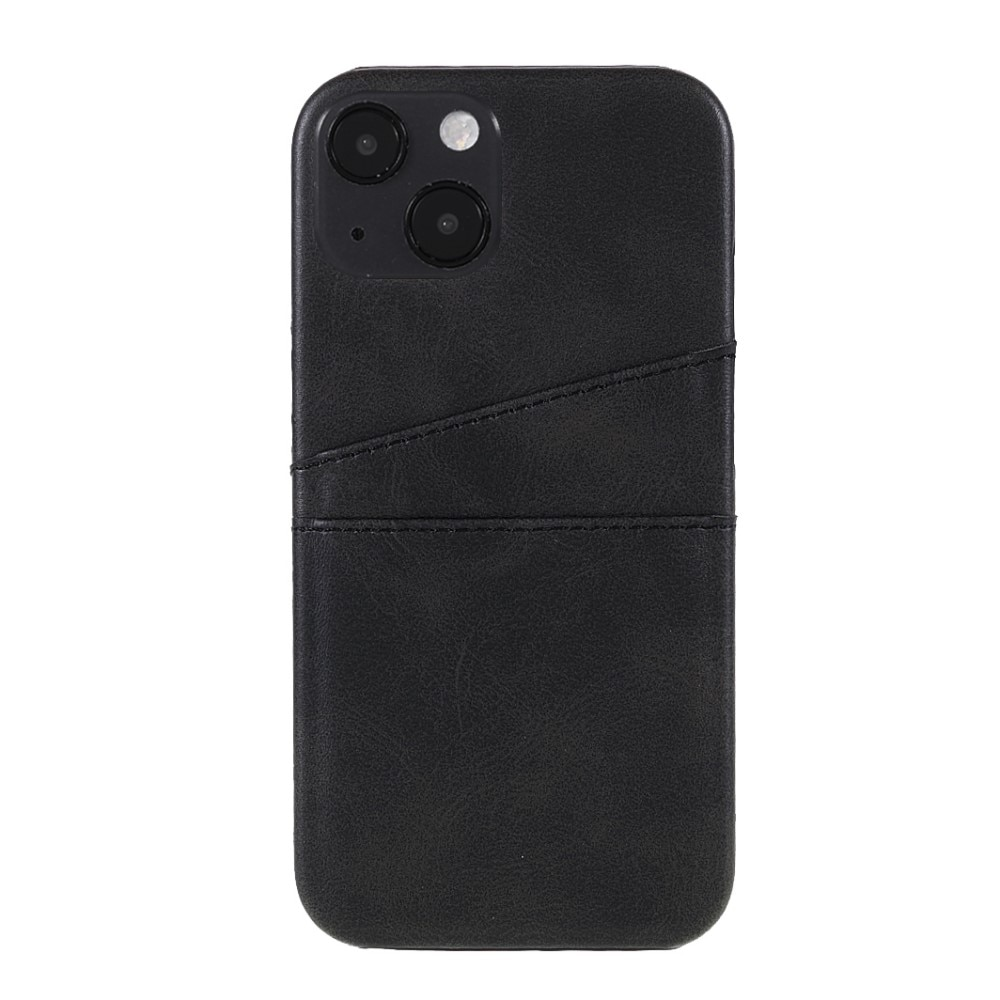Card Slots Case Apple iPhone 13 svart