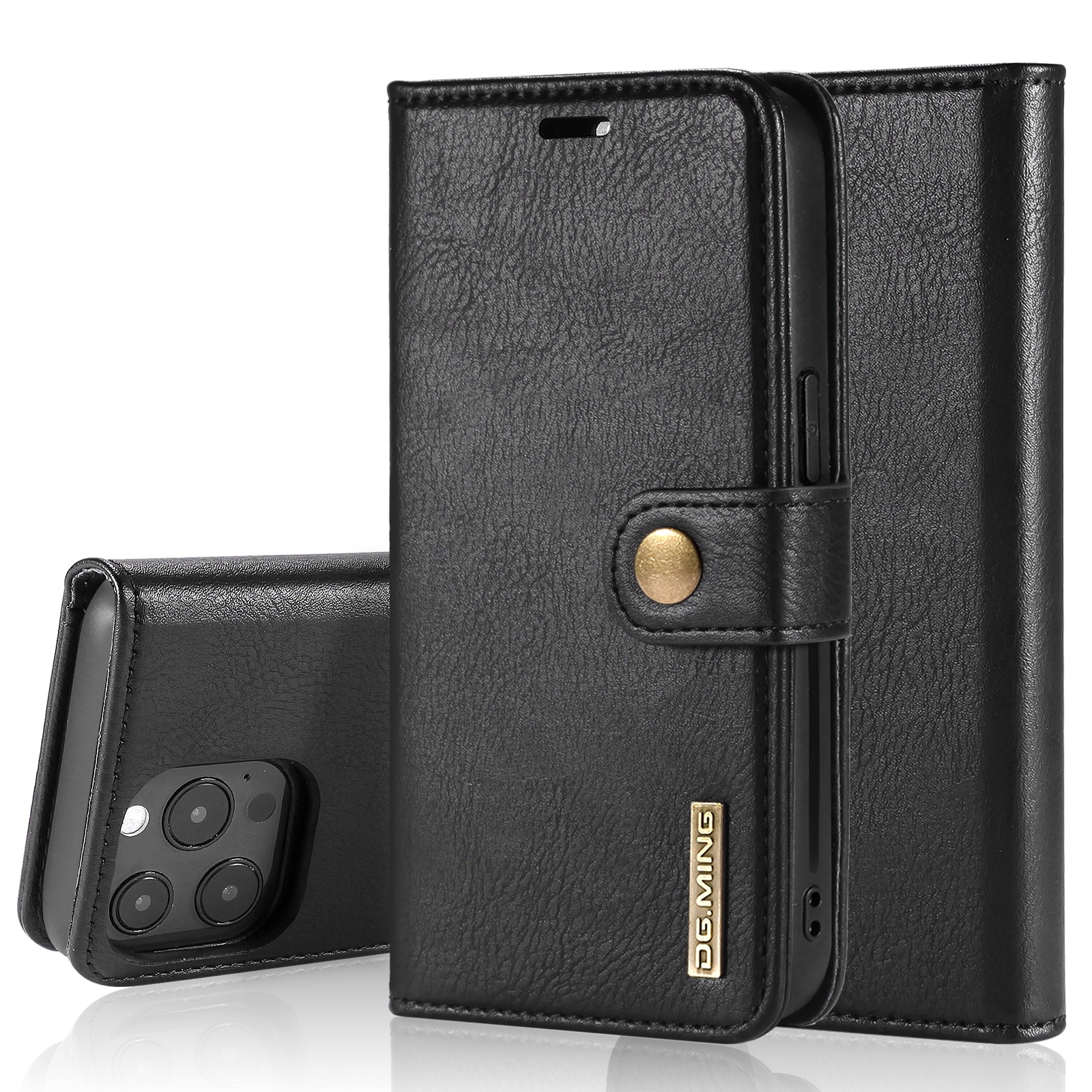 Magnet Wallet iPhone 13 Pro Black