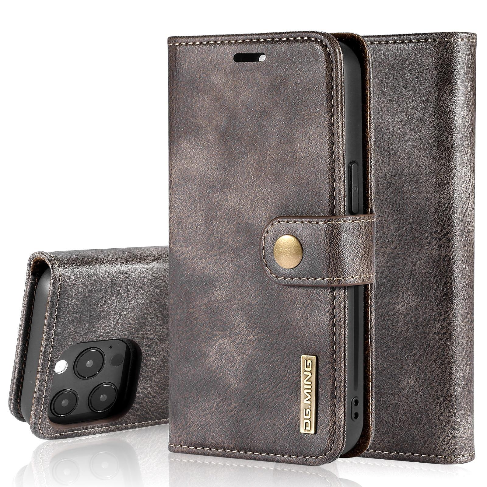 Magnet Wallet iPhone 13 Pro Brown