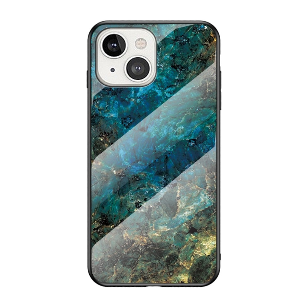 Skal Härdat Glas Apple iPhone 13 Mini emerald