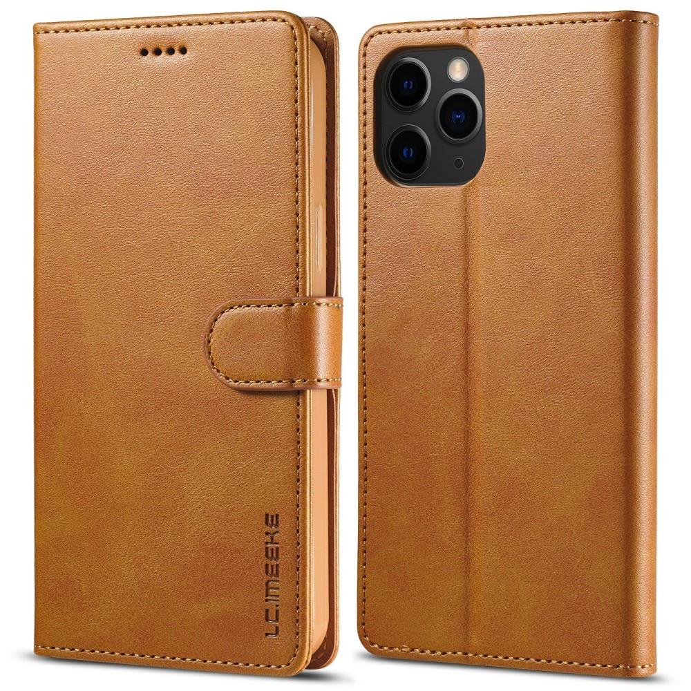 Plånboksfodral iPhone 13 Pro Max cognac