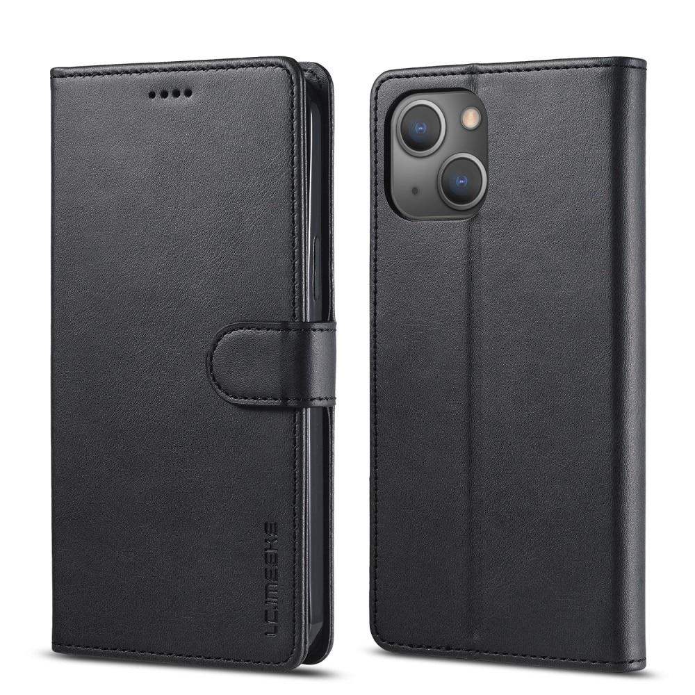 Plånboksfodral iPhone 13 svart