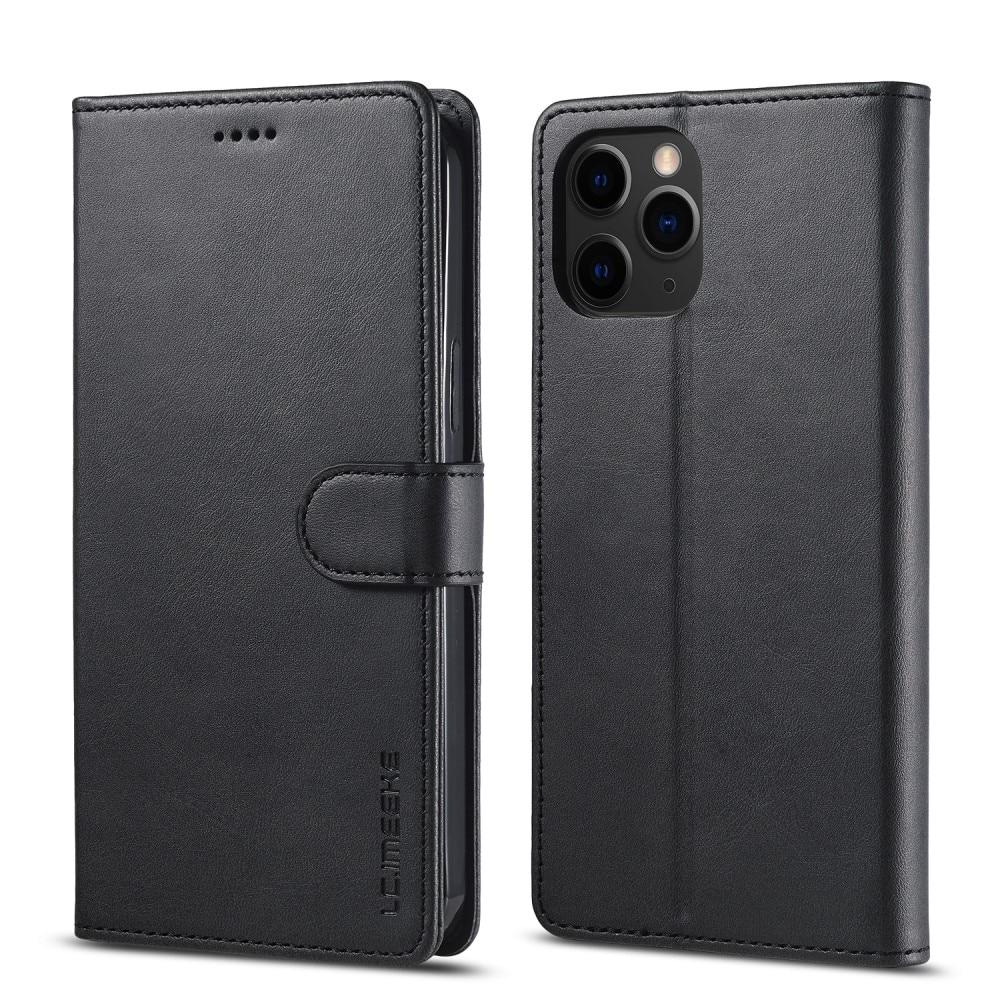 Plånboksfodral iPhone 13 Pro svart