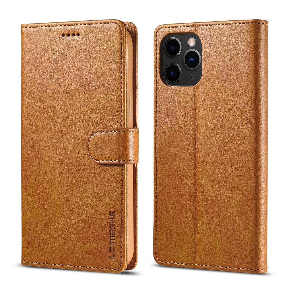 Plånboksfodral iPhone 13 Pro cognac