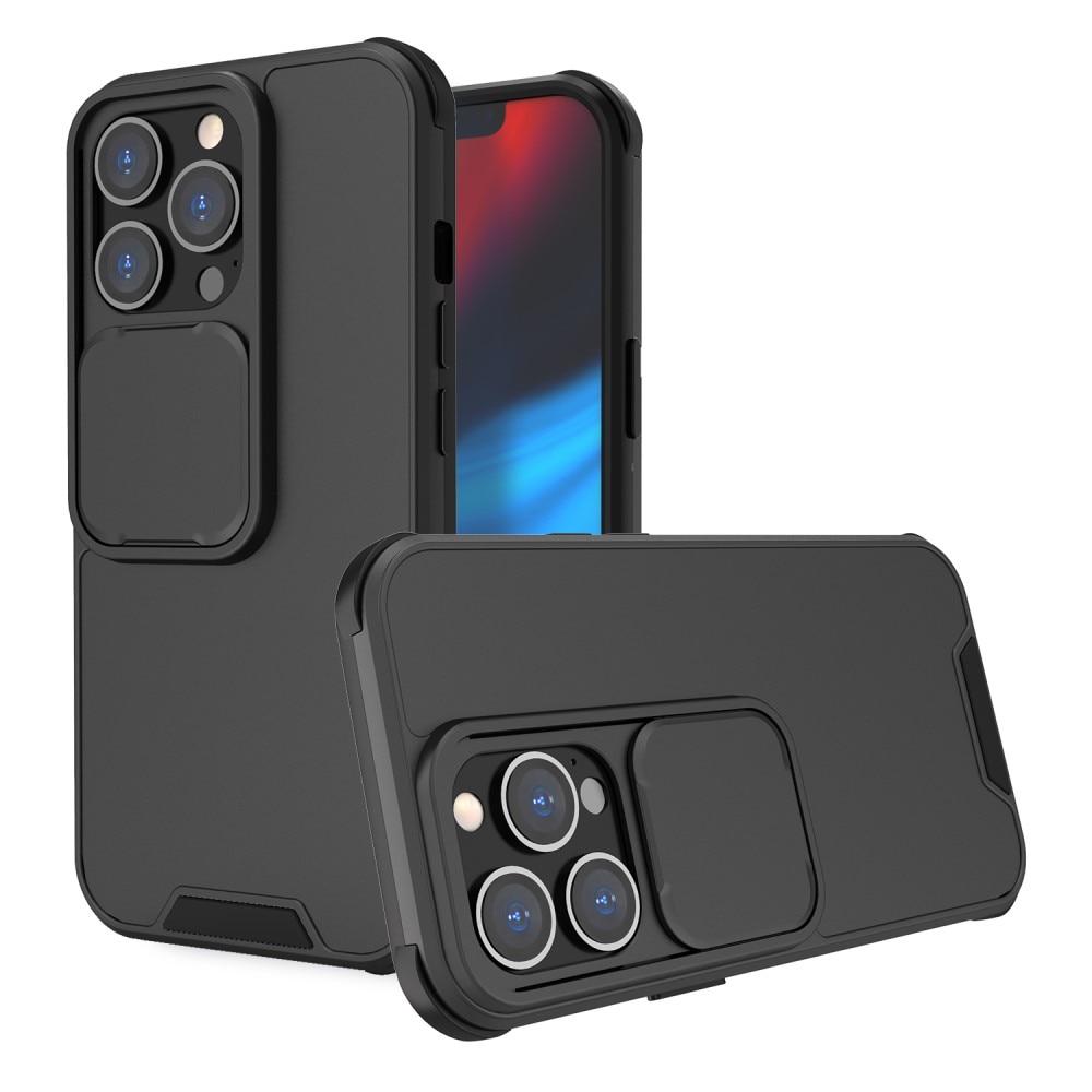 Skal kameraskydd iPhone 13 svart