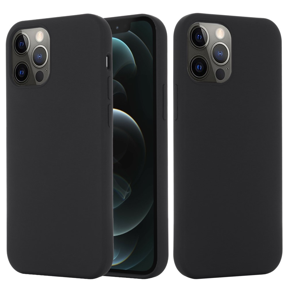 Silicone Magnetic Case iPhone 13 Pro Max Black