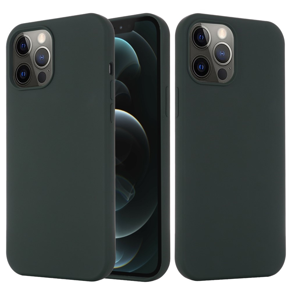 Silicone Magnetic Case iPhone 13 Dark Green