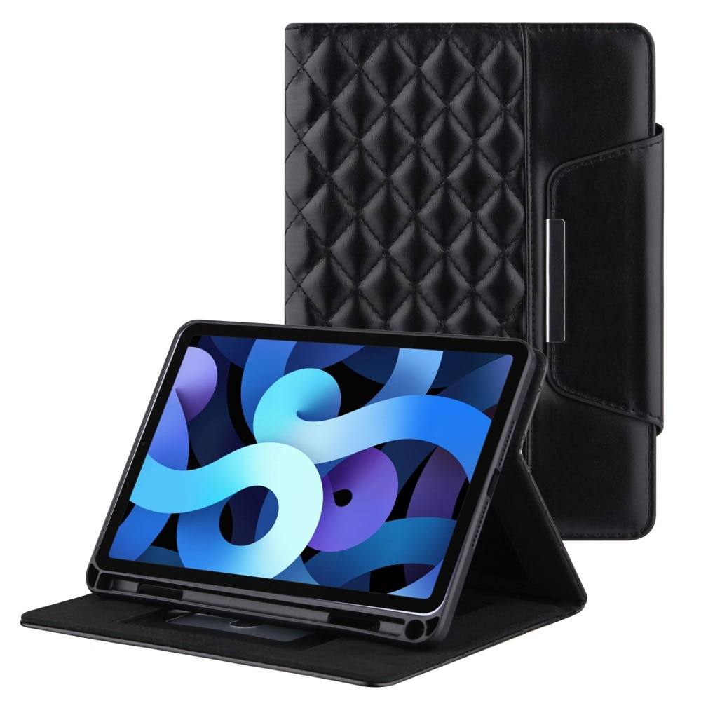 Fodral Apple iPad 10.2/Air 2019/Pro 10.5 Quilted svart