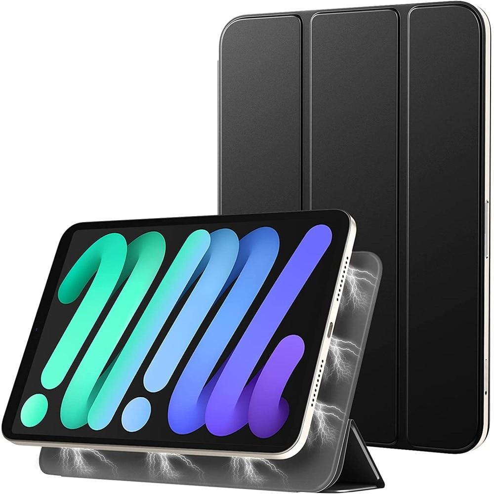 Magnetiskt Tri-Fold fodral iPad Mini 6 (2021) svart