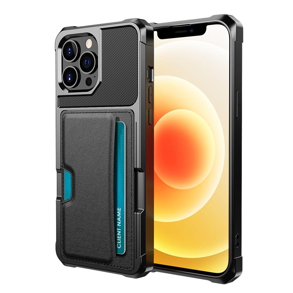Tough Card Case iPhone 13 Pro Max svart
