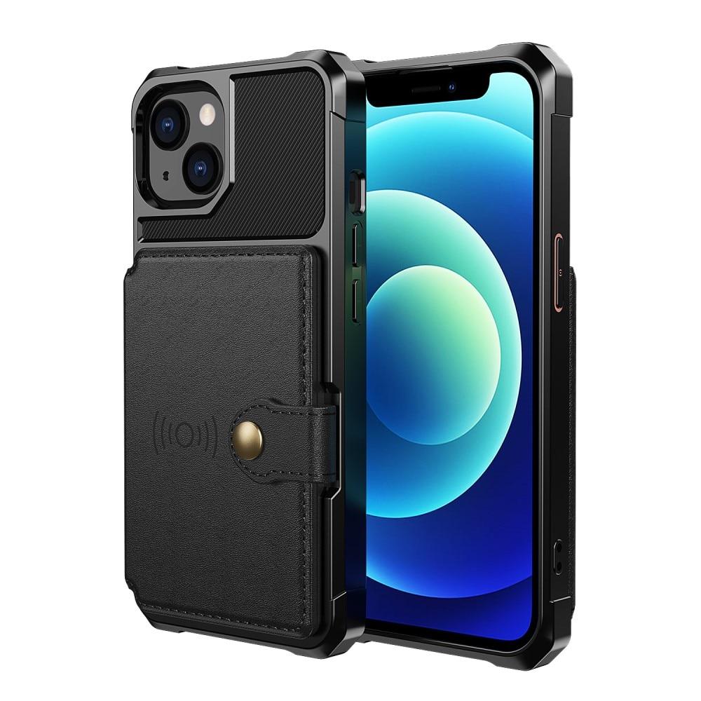 Tough Multi-slot Case iPhone 13 svart