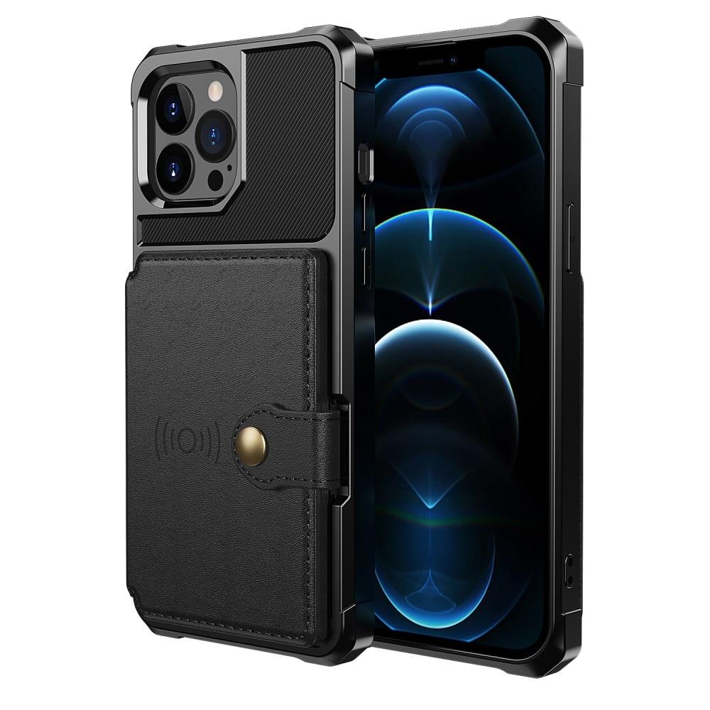 Tough Multi-slot Case iPhone 13 Pro svart