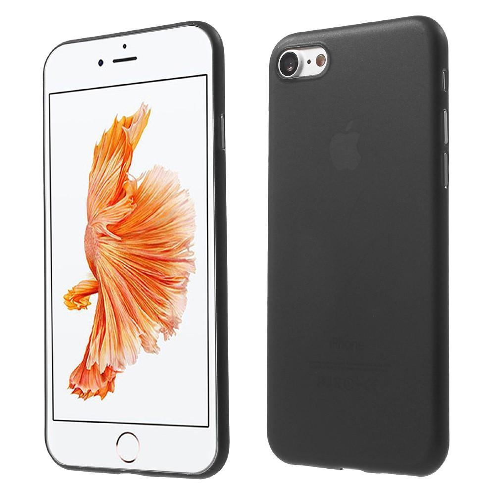 Mobilskal Frosted iPhone 7/8/SE 2020 svart