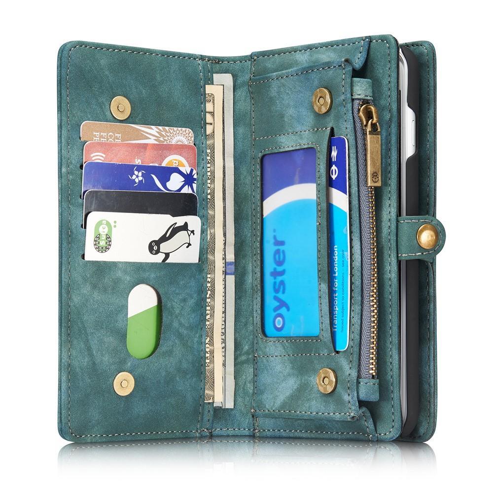 Multi-slot Plånboksfodral iPhone 7 Plus/8 Plus  blå