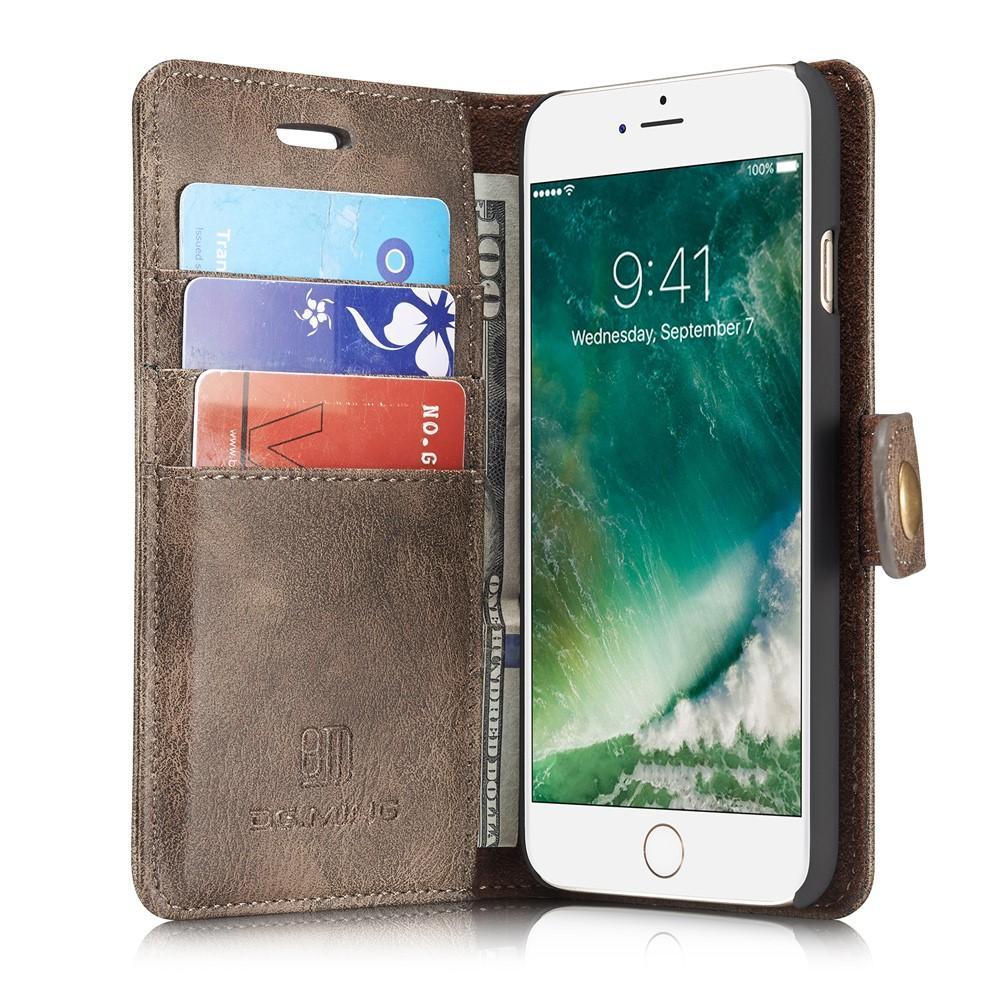 Magnet Wallet iPhone 7/8/SE 2020 Brown