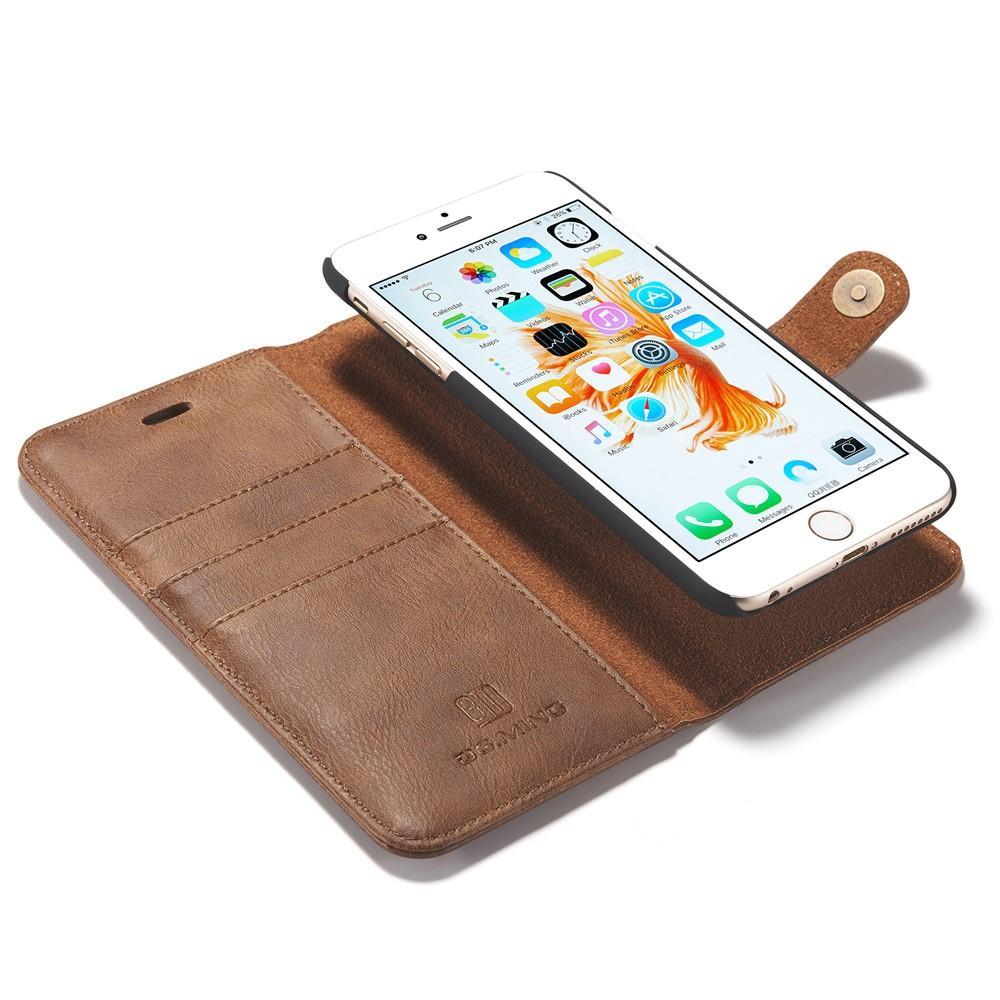 Magnet Wallet iPhone 6 Plus/6S Plus Cognac