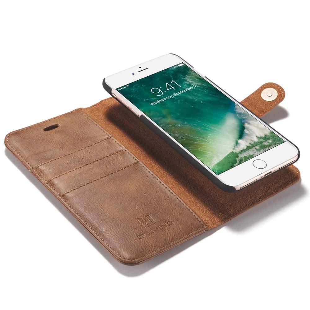 Magnet Wallet iPhone 7 Plus/8 Plus Cognac