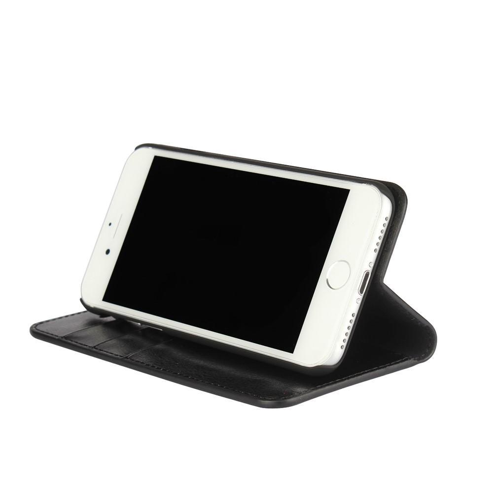 Mobilfodral Äkta Läder iPhone 7/8/SE 2020 svart