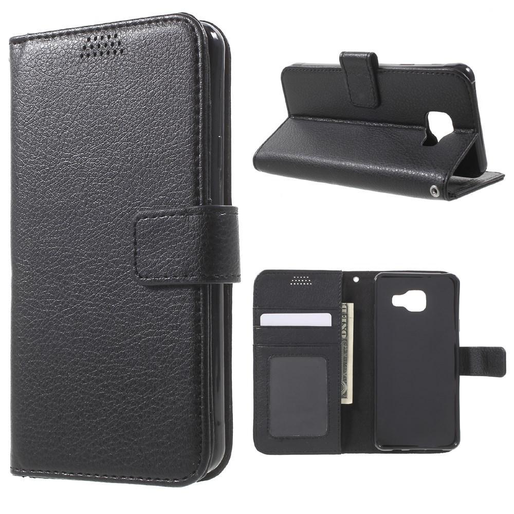 Plånboksfodral Samsung Galaxy A3 2016 svart