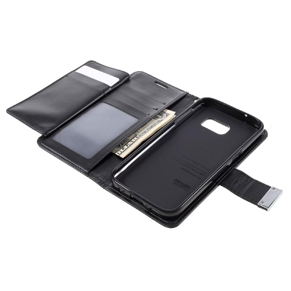 Rich Diary Case Samsung Galaxy S7 svart