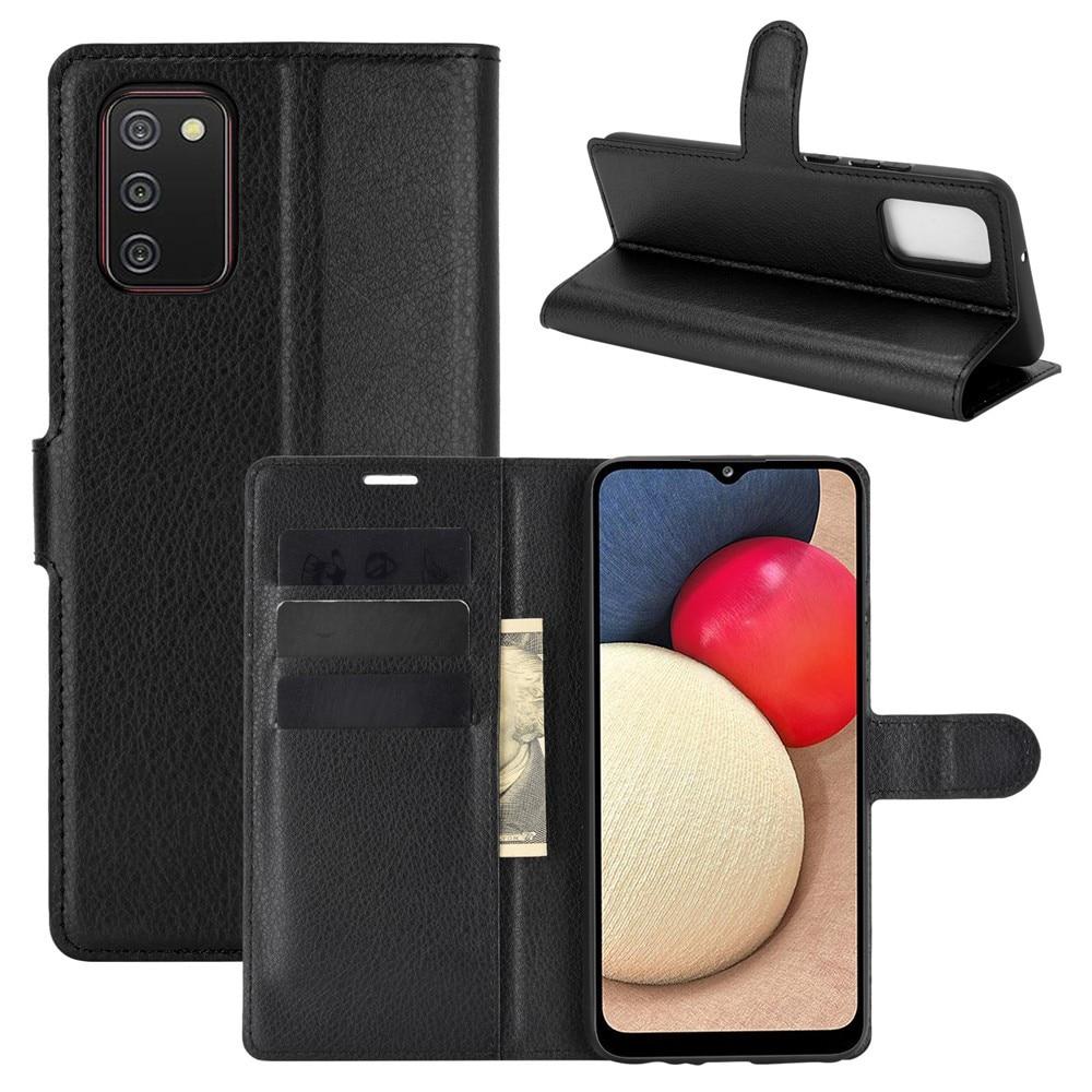 Mobilfodral Samsung Galaxy A02s svart