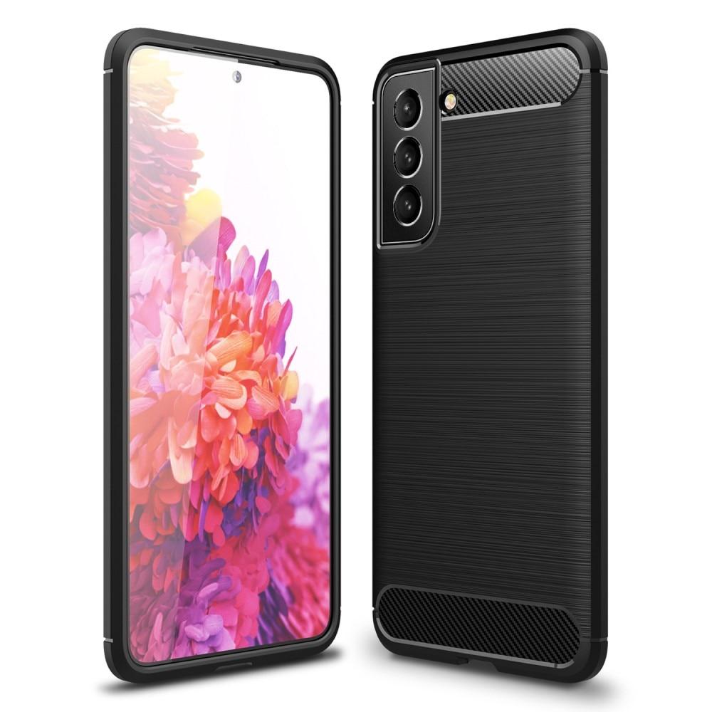 Brushed TPU Case Samsung Galaxy S21 FE Black
