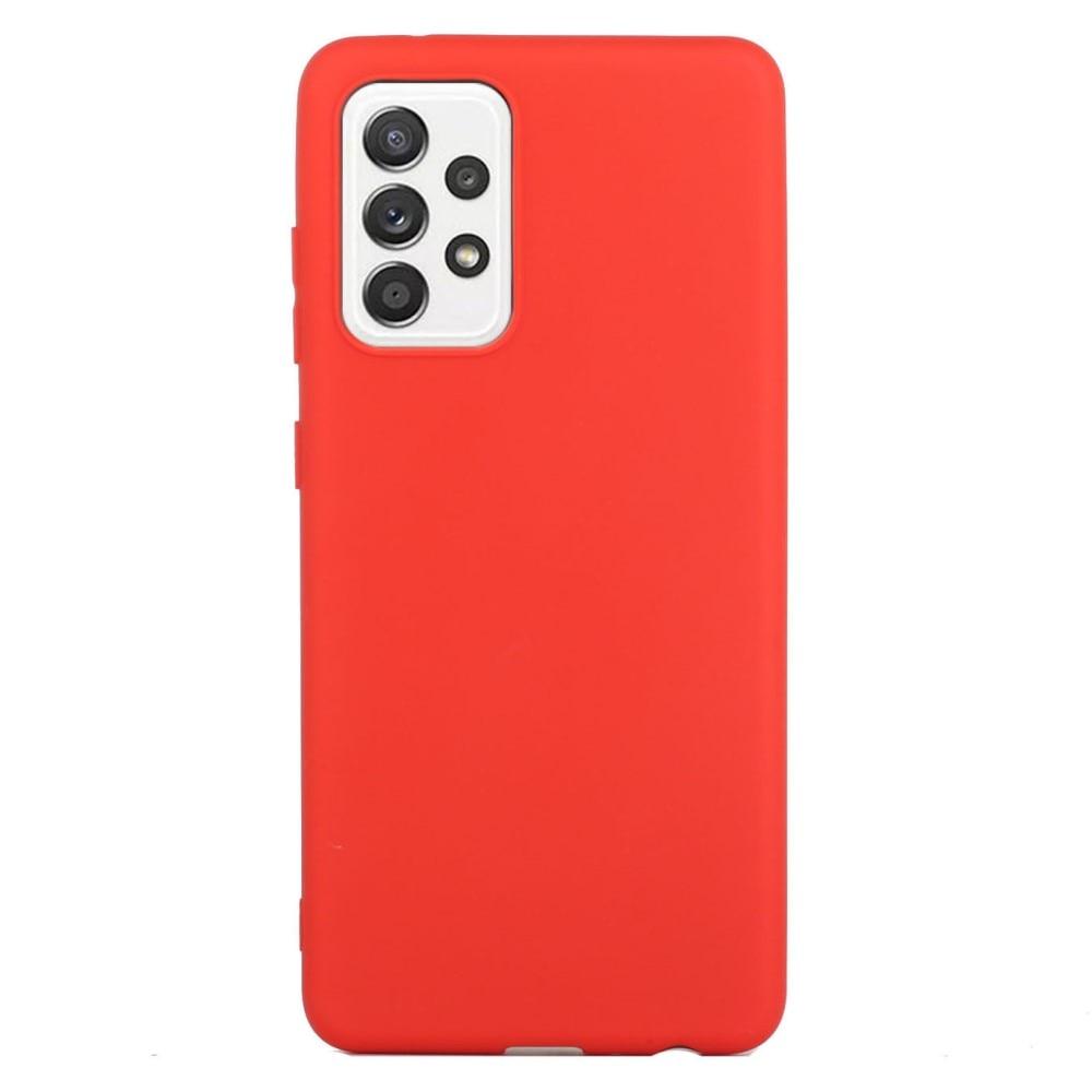 TPU Skal Samsung Galaxy A52 röd