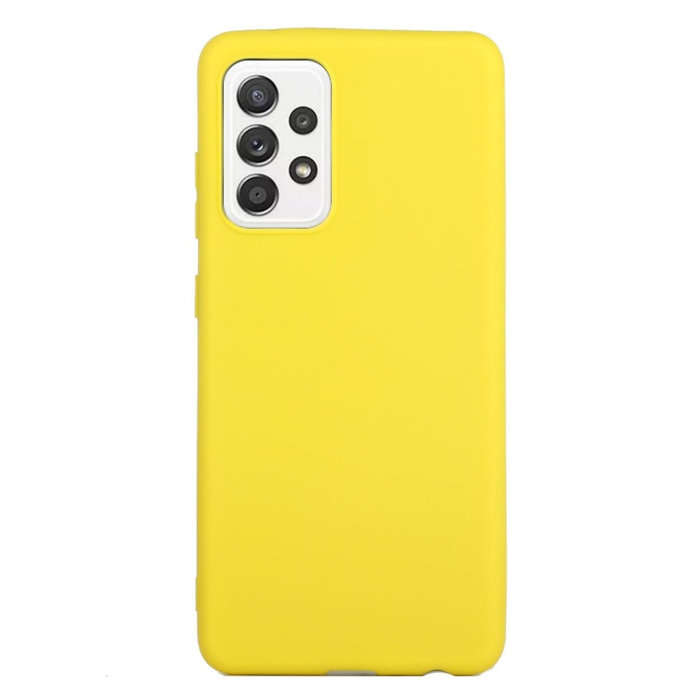 TPU Skal Samsung Galaxy A52 gul