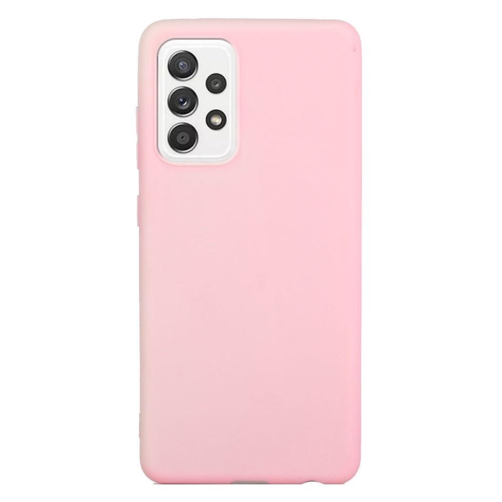 TPU Skal Samsung Galaxy A52 rosa