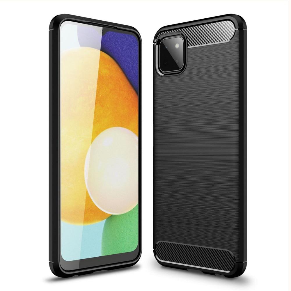 Brushed TPU Case Samsung Galaxy A22 5G Black
