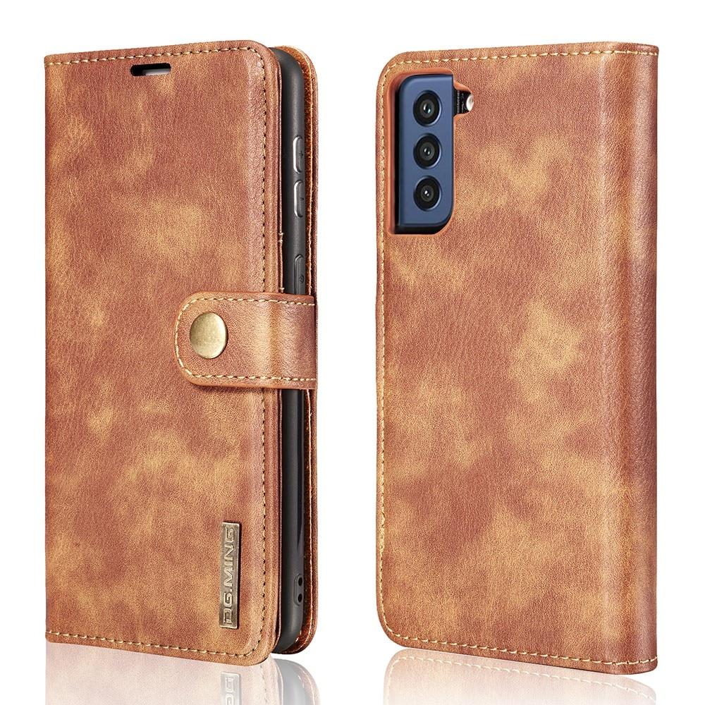 Magnet Wallet Samsung Galaxy S21 FE Cognac