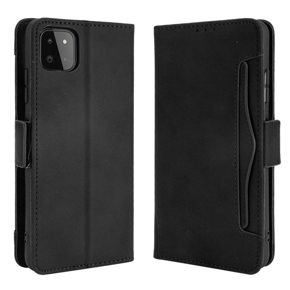 Multi Plånboksfodral Samsung Galaxy A22 5G svart