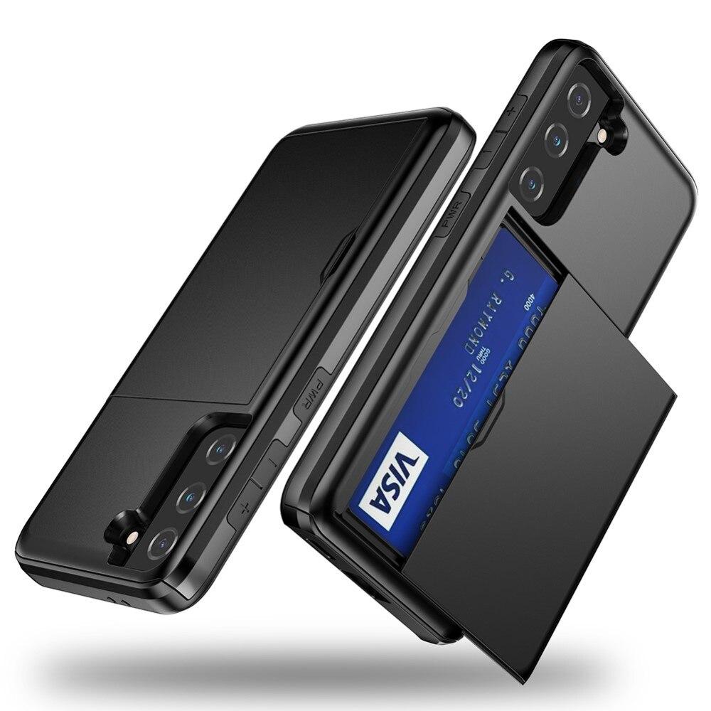 Skal Kortfack Samsung Galaxy S21 FE svart
