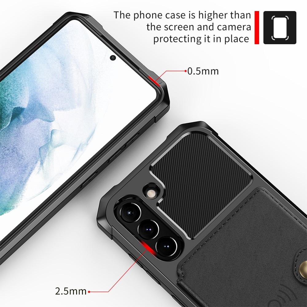 Tough Multi-slot Case Galaxy S21 FE svart