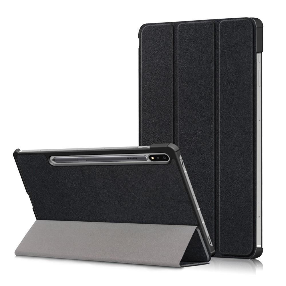 Fodral Tri-fold Samsung Galaxy Tab S7 FE svart