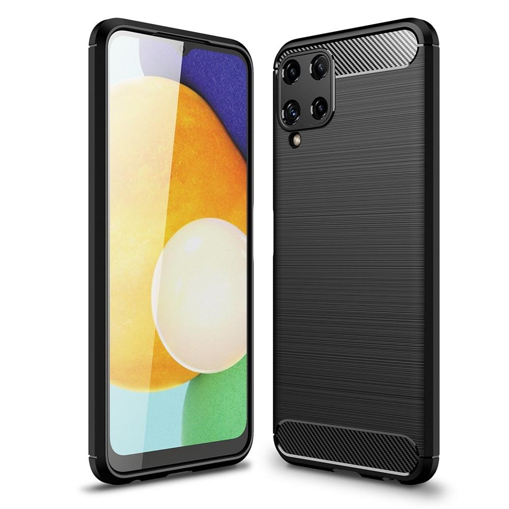 Brushed TPU Case Samsung Galaxy A22 4G Black