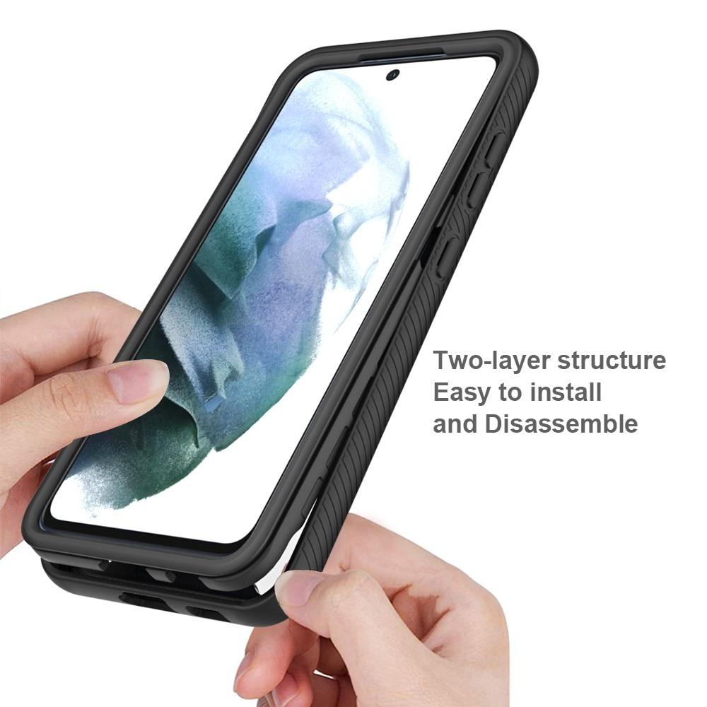 Full Cover Skal Samsung Galaxy S21 FE svart