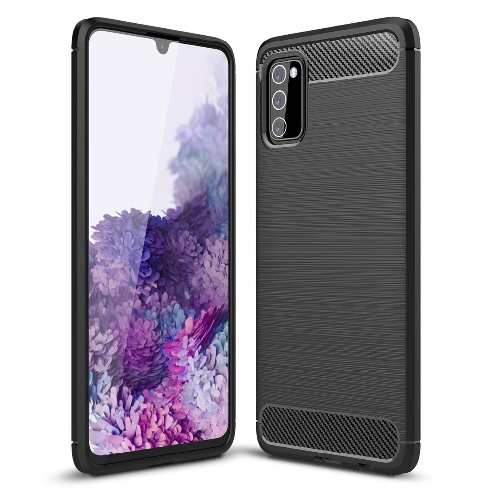 Brushed TPU Case Samsung Galaxy A03s Black