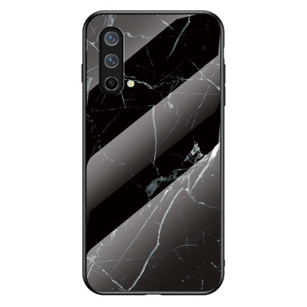 Skal Härdat Glas OnePlus Nord CE 5G svart marmor