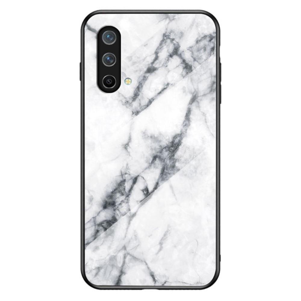 Skal Härdat Glas OnePlus Nord CE 5G vit marmor